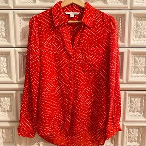 DVF Button Down